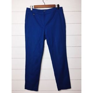 Adrianna Papell | Royal Blue Ankle Skinny Pants
